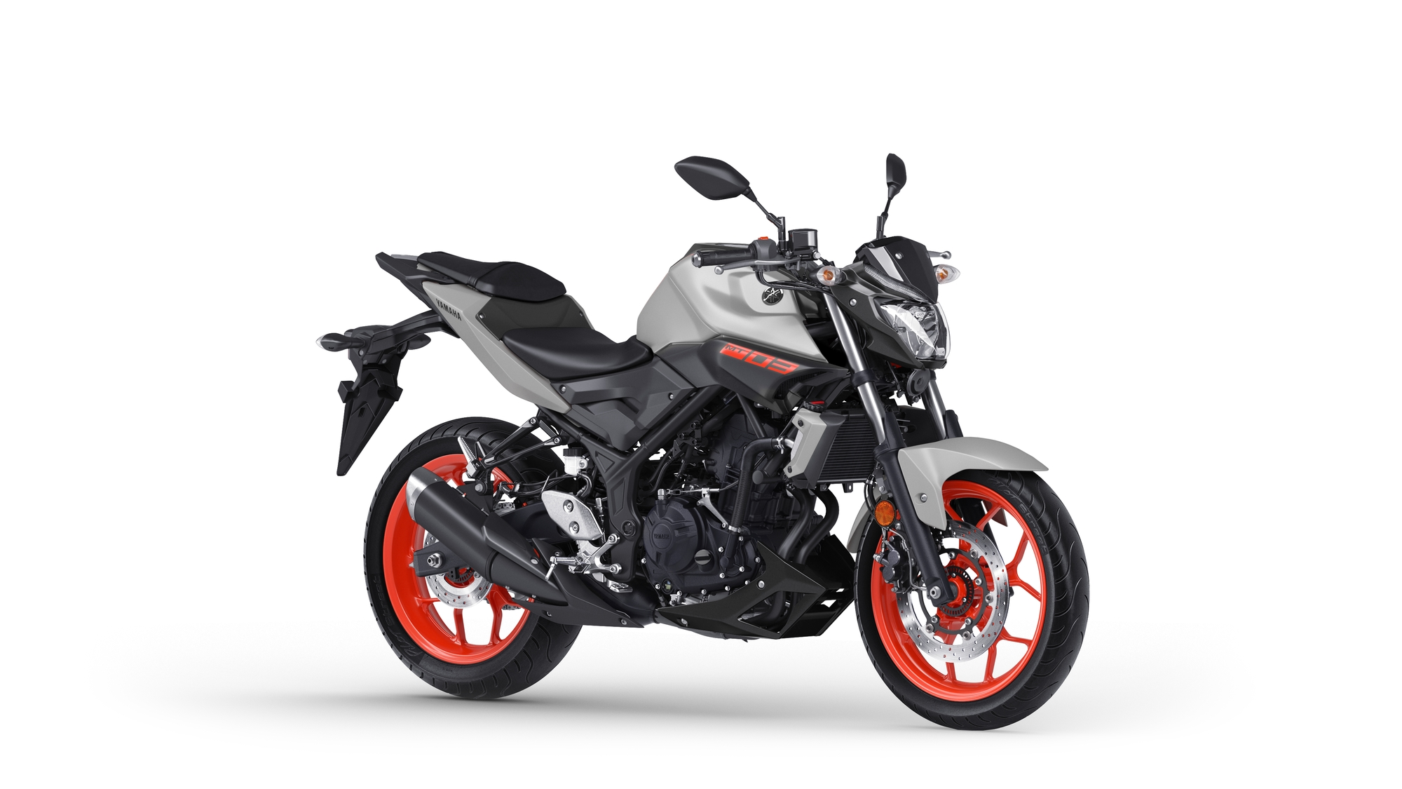 Yamaha MT 03 Argent Orange